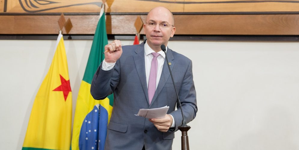 Deputado Gehlen Diniz defende intervenção federal no Estado