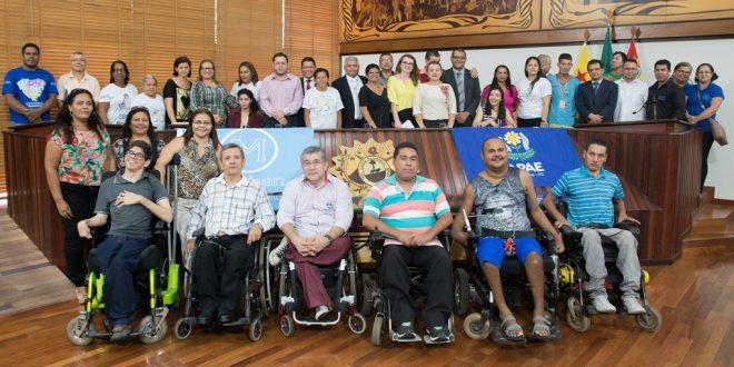 Sessão solene marca Dia Nacional de Luta da Pessoa com Deficiência