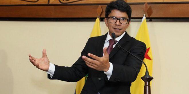 Presidente em exercício Jenilson Leitefaz votos de uma eleição tranquila no próximo domingo