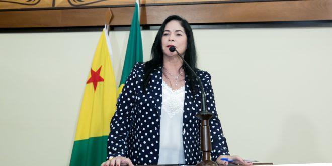 Deputada Maria Antôniadenuncia falta de oxigênio em Acrelândia