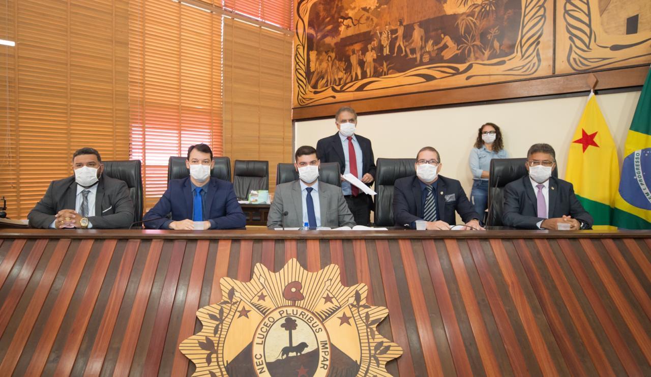 Aleac aprova Decreto de Calamidade Pública no Estado em decorrência do coronavírus