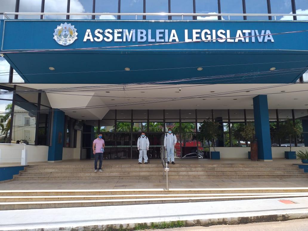 Depasa faz desinfecção biológica na Assembleia Legislativa