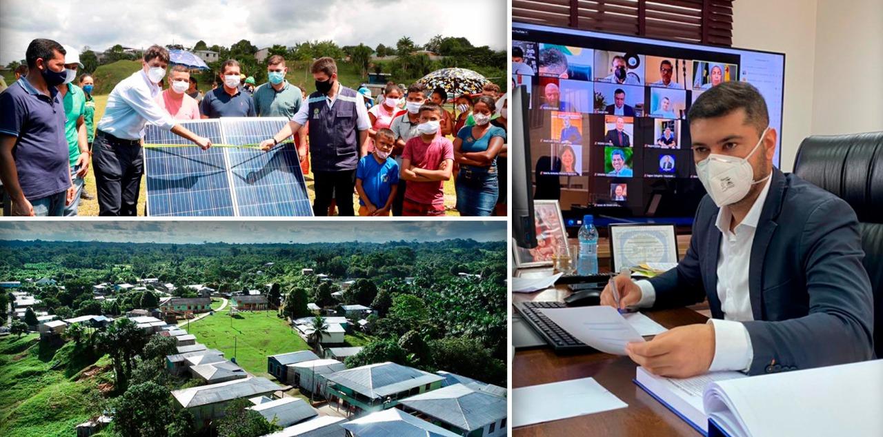 Energia solar vai permitir produtores de área rural em Marechal Thaumaturgo a aumentar produção de farinha