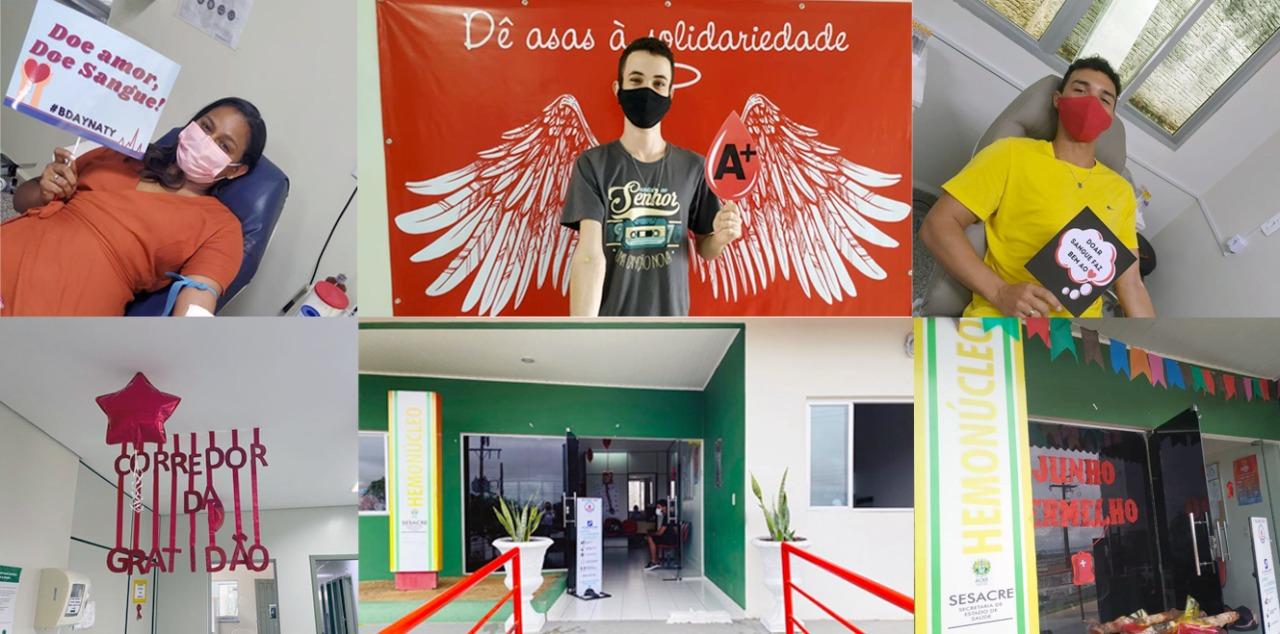 """Aleac entra na campanha """"Junho Vermelho"""" do Hemonúcleo de Cruzeiro do Sul para mais doadores de sangue"""