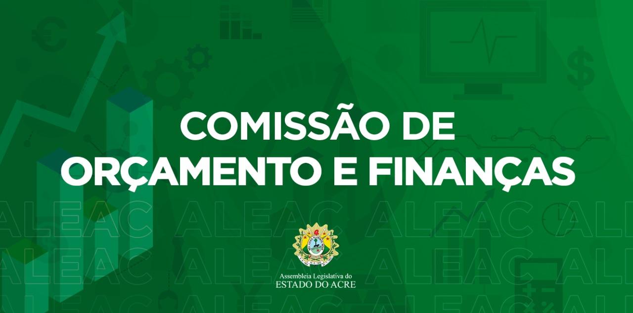 Comissão de Orçamento e Finanças da Aleac define data de audiência pública que debaterá LDO 2022