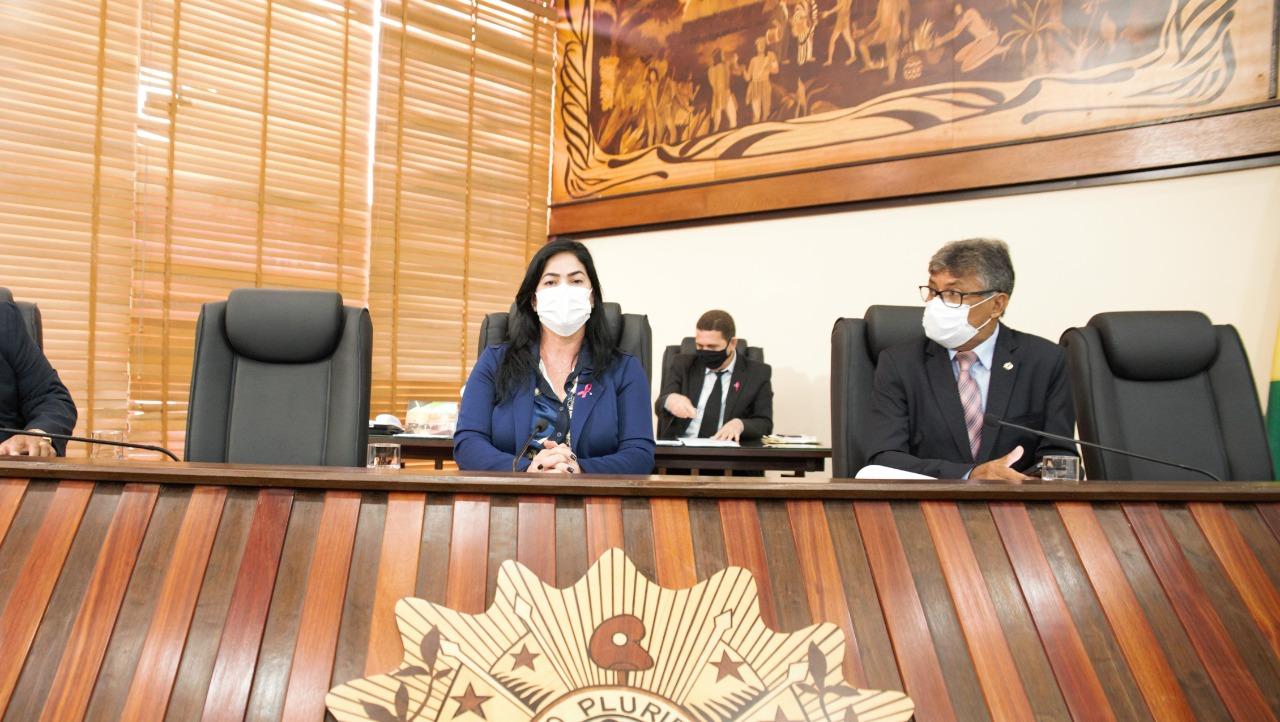 Maria Antônia destaca boa atuação de diretor da Fundhacre, João Paulo