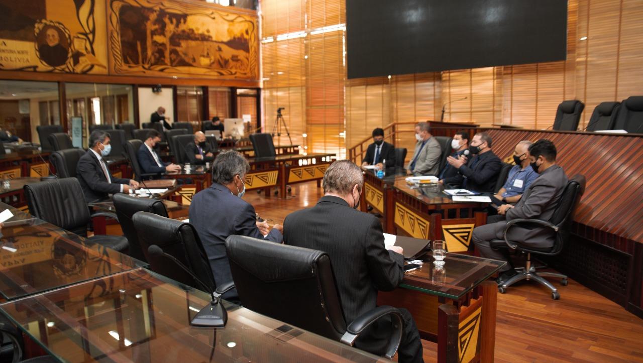 Em reunião conjunta, Comissões da Aleac aprovam empréstimo junto ao Fonplata
