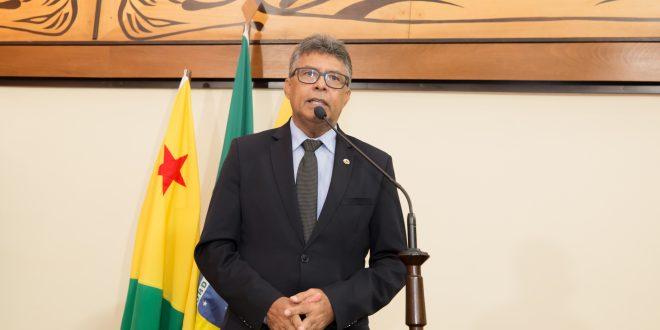 Deputado Antônio Pedro fala sobre ordem de serviço para construção de ponte do Bairro Sibéria